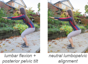 Squat-round + flat back