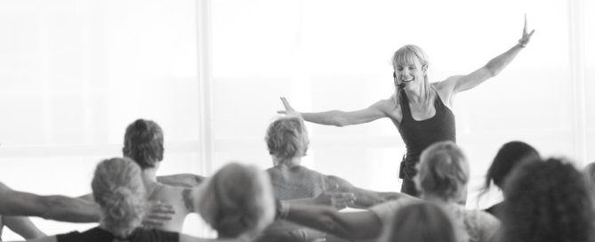 Body Harmonics Founder, Margot McKinnon instructing a Conference Workshop