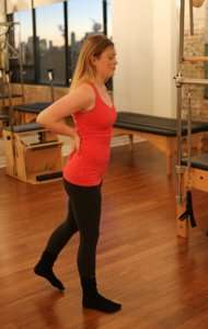Forward rocking exercise for Multifidus