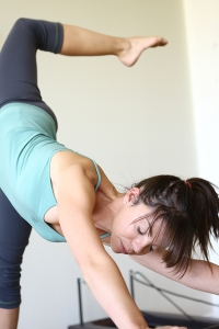 Pilates arabesque