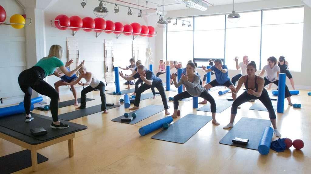 Abs, Hips & Thighs Pilates Class-ST