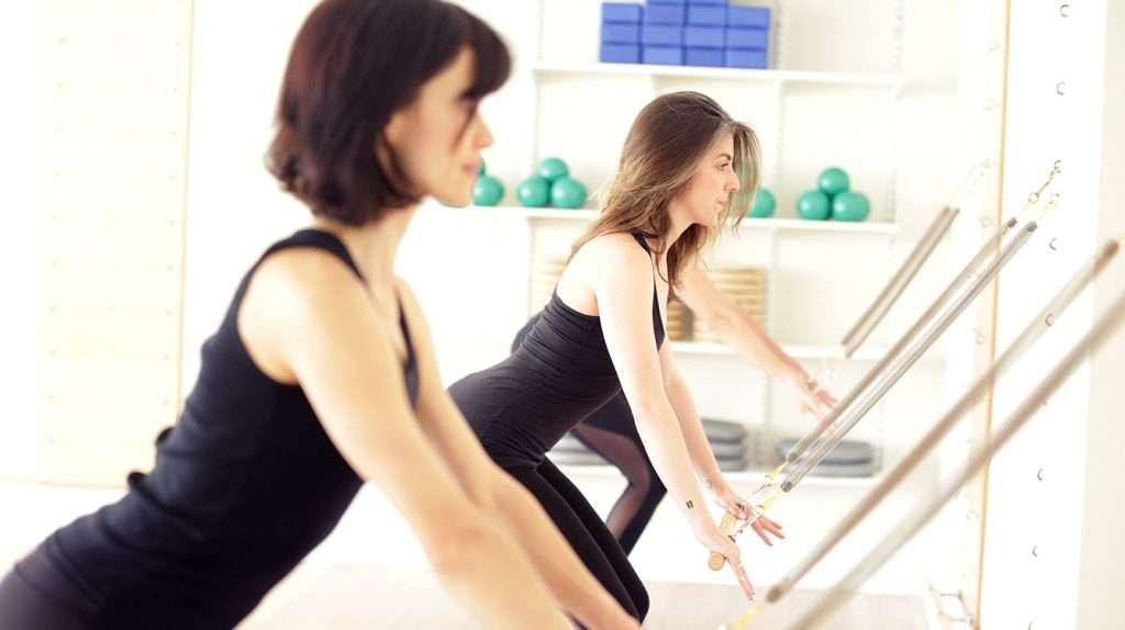 Pilates Springboard Class-Squat-ST