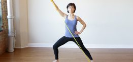Pilates Basic Mat Class Plan with Theraband